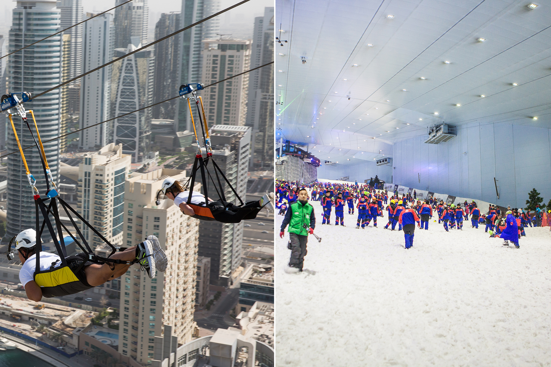 The Craziest Things You Can Do In Dubai Malls From Ziplining To