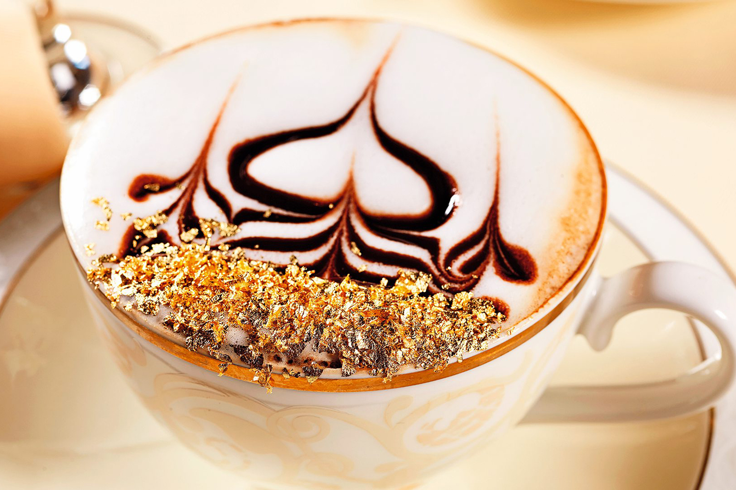 Drink a gold cappuccino | Things To Do | Time Out Dubai