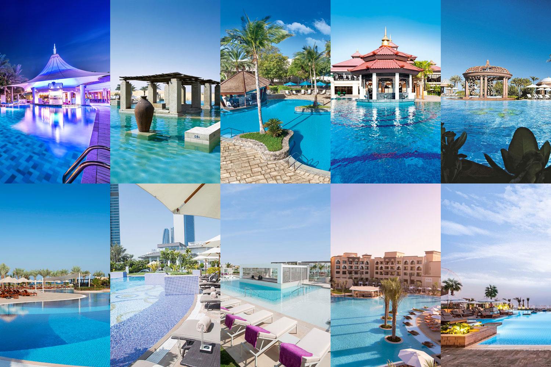 Dubai S Best Swim Up Pool Bars Bars Nightlife Time Out Dubai