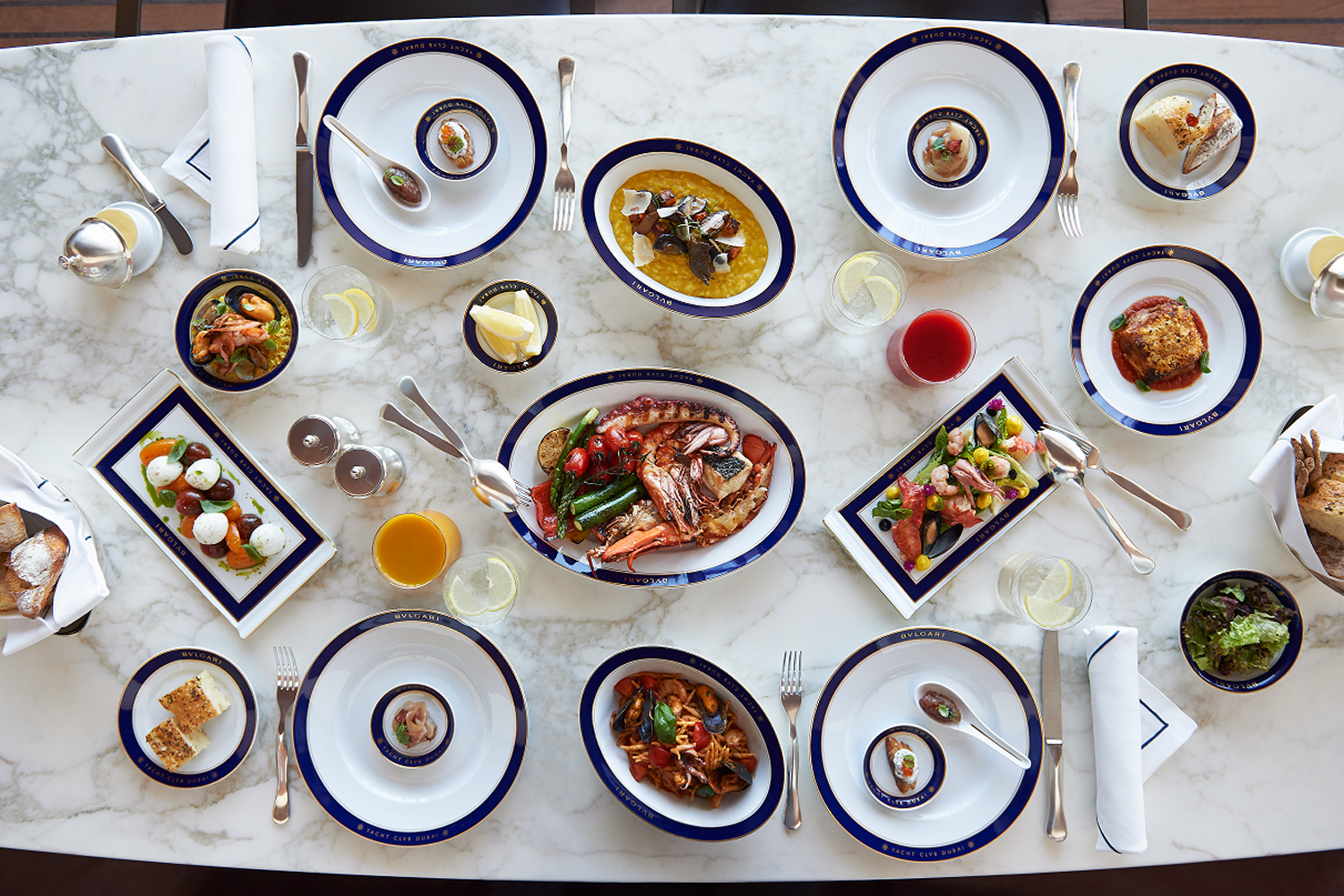 The Bvlgari Yacht Club restaurant has launched a new family-friendly brunch