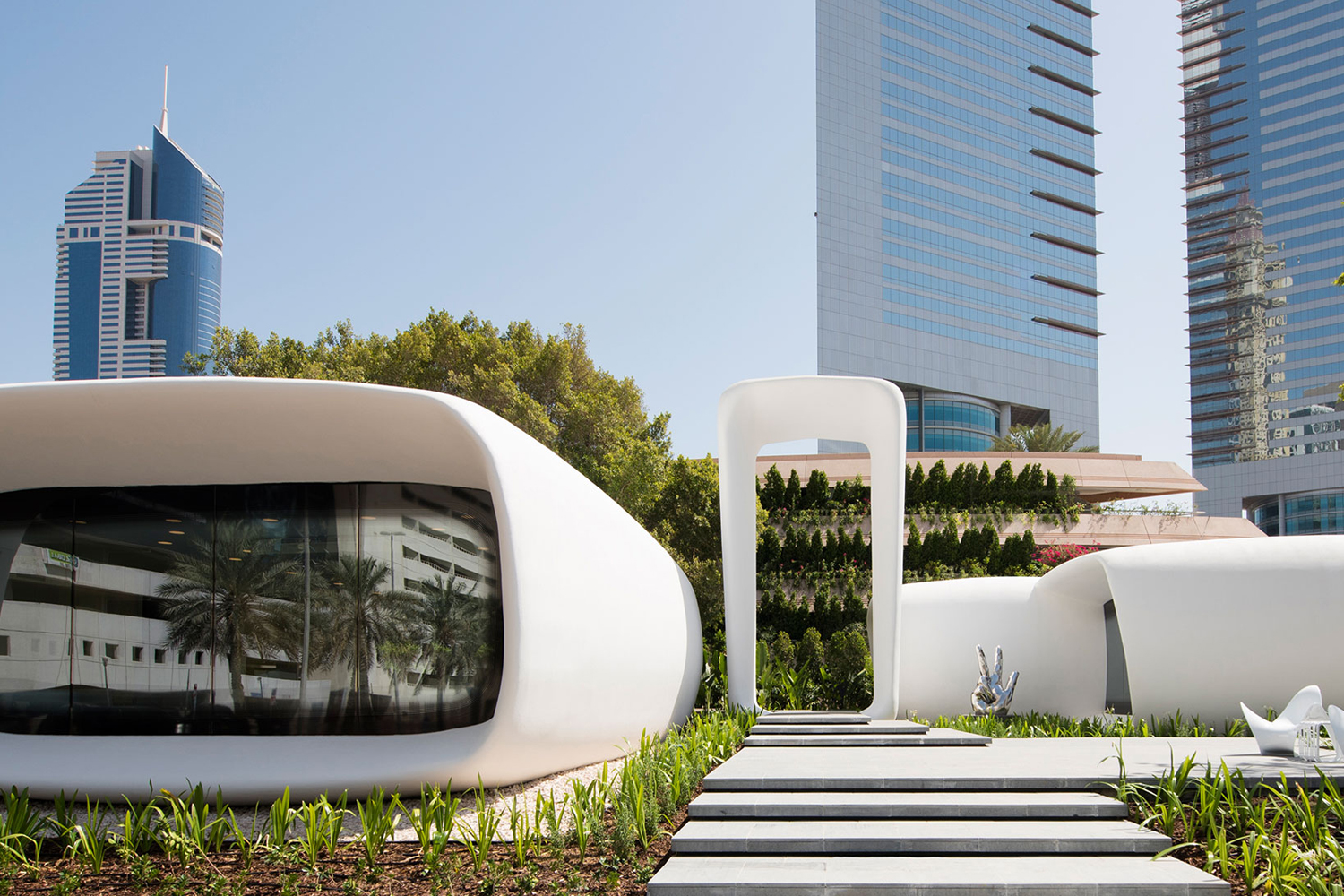 Dubai sets world record for first 3D printed office