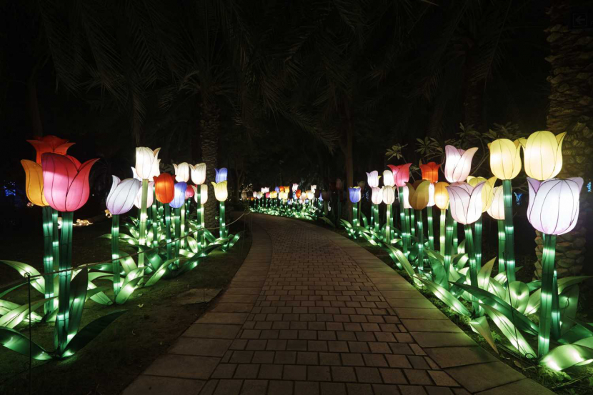 Dubai Garden Glow Reopens For 2019 Winter Season Attractions Time Out Dubai