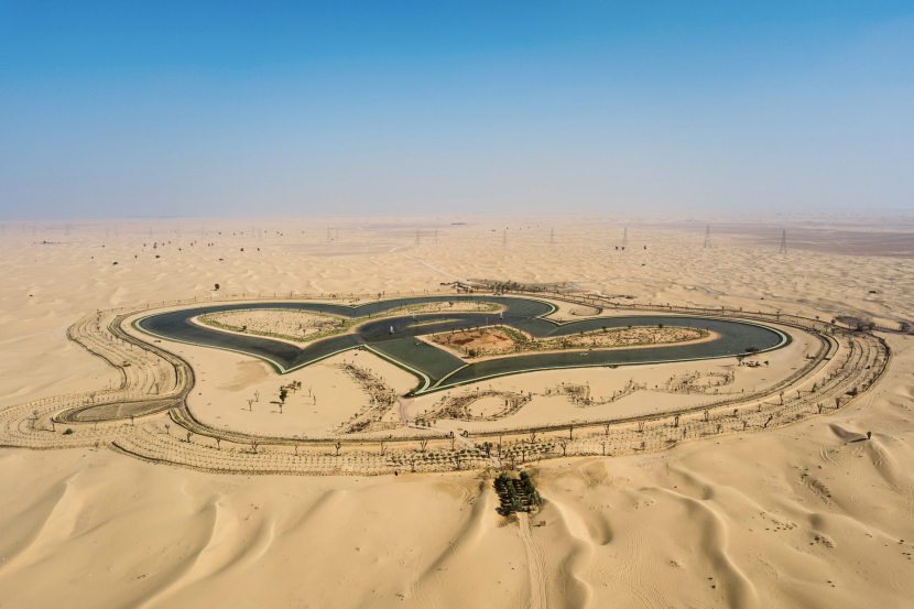 Al Qudra Lakes - Free things to do in Dubai