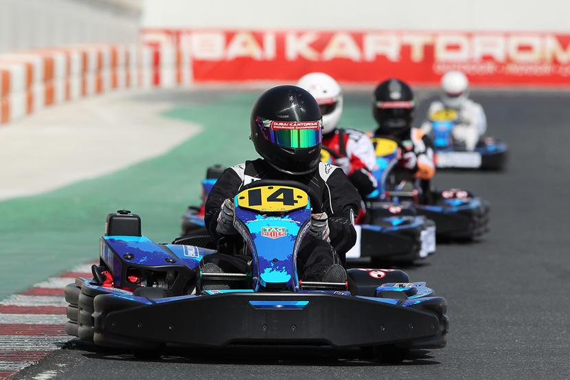 Dubai's top children's activities, Dubai Kartdrome