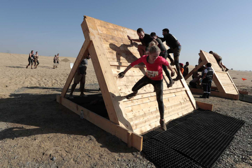 Tough Mudder -Dubai Fitness Challenge 2019