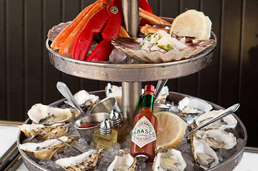 The MAINE Oyster Bar and Grill, best seafood restaurants Dubai
