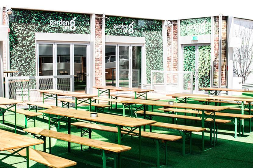 garden on 8, Best Sports Bars in Dubai 2020