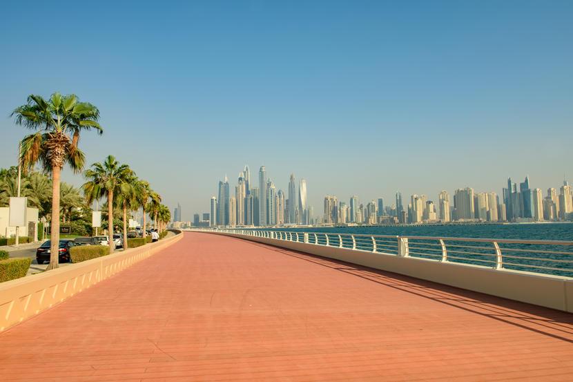 Donde hacer ejercicio al aire libre en Dubai