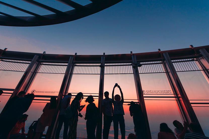 At The Top, Burj Khalifa, attractions and sights in Dubai