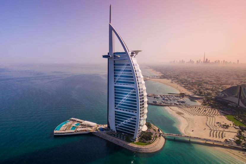 Burj Al Arab Jumeirah, attractions and sights in Dubai