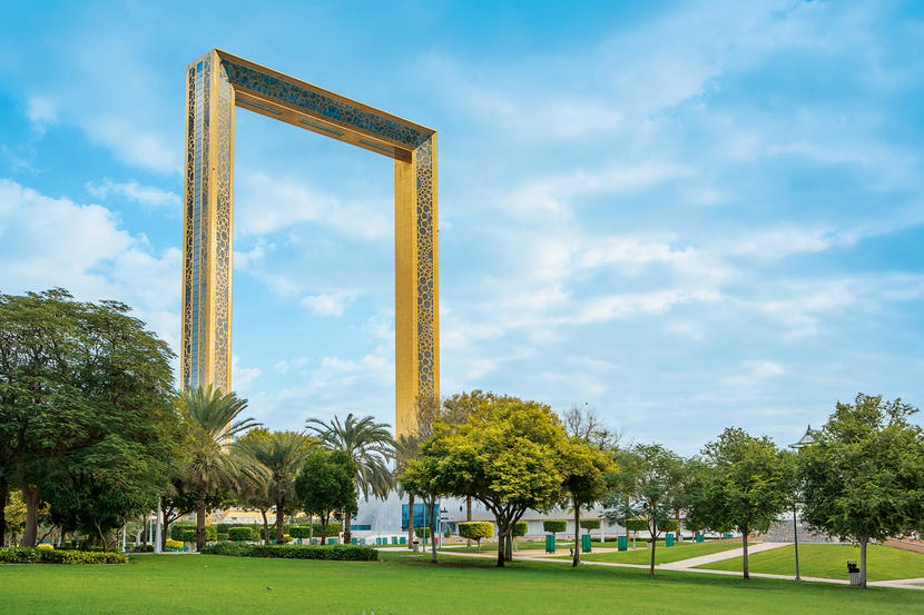 Dubai Frame, attractions and sights in Dubai