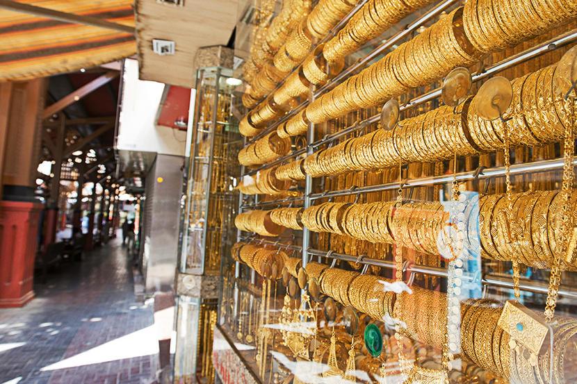 Dubai Gold Souk, attractions and sights in Dubai