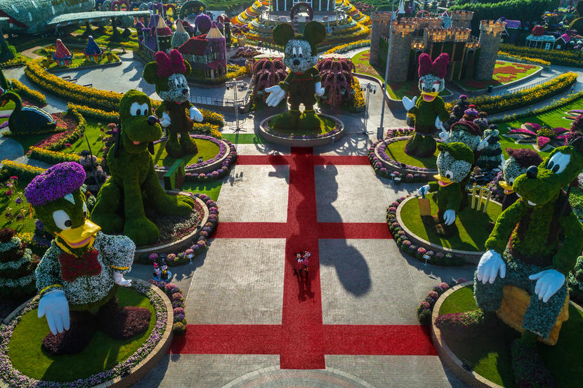 Dubai Miracle Garden, attractions and sights in Dubai