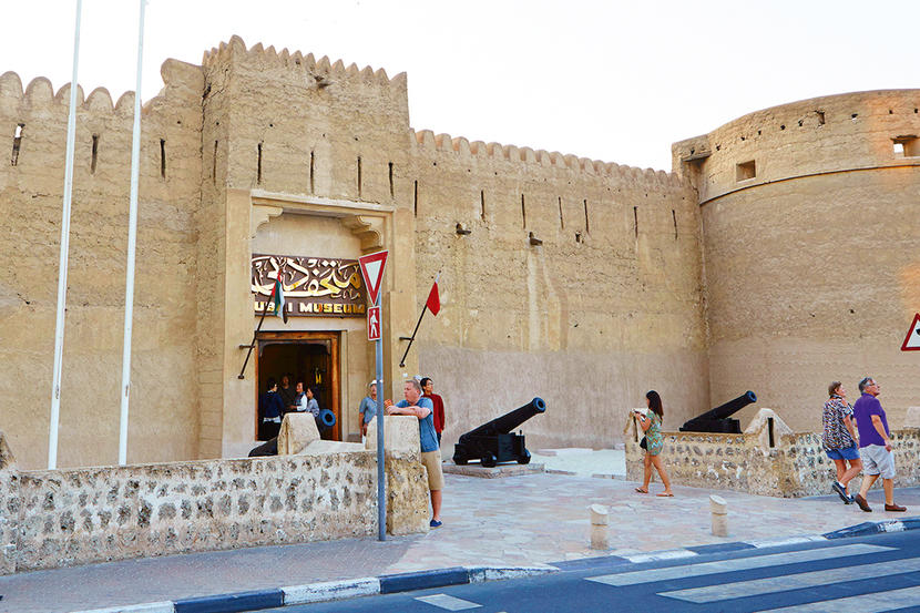 Dubai Museum, attractions and sights in Dubai