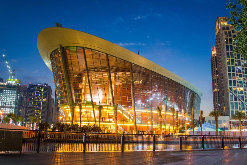 Dubai Opera, attractions and sights in Dubai