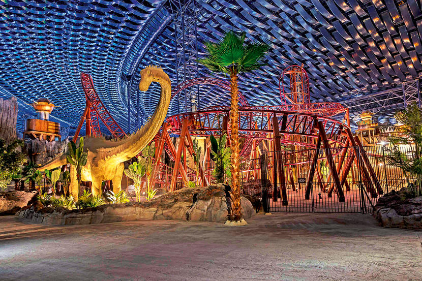 IMG Worlds of Adventure, attractions and sights in Dubai
