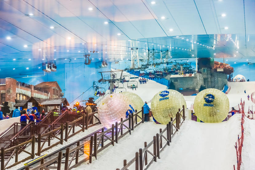 Dubai's top children's activities, Ski Dubai