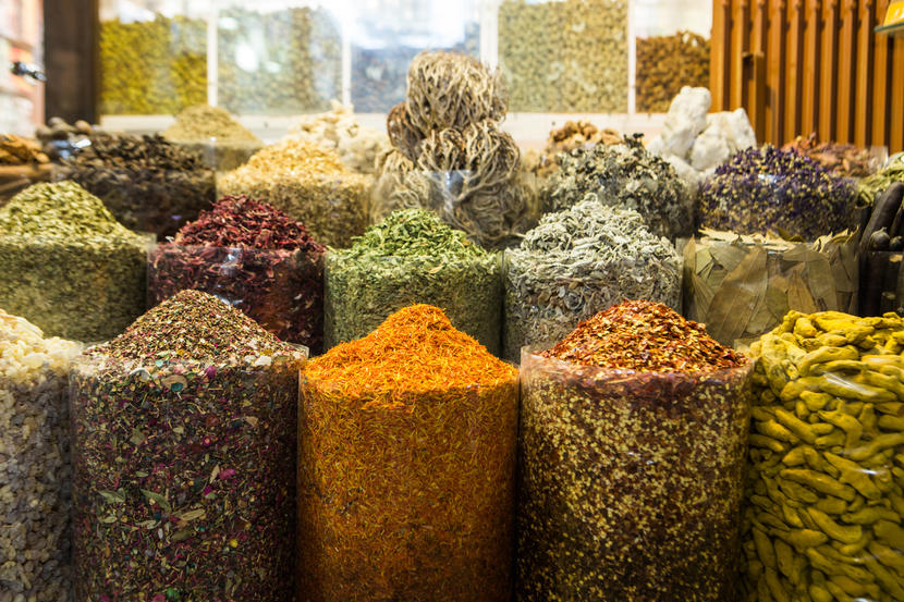 Spice Souk, attractions and sights in Dubai