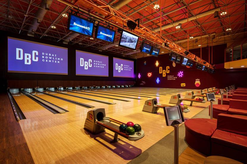 Dubai Bowling Center, fun things to do in Dubai