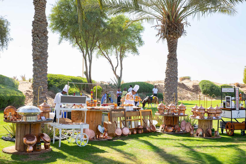 The best family brunches in Dubai, FRIDAY GARDEN BRUNCH AT BAB AL SHAMS RESORT