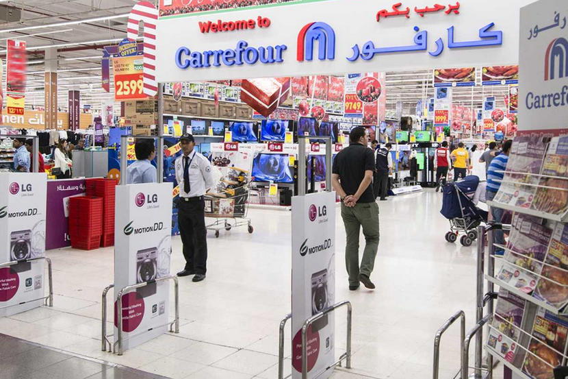 Top organic supermarkets in Dubai, Carrefour