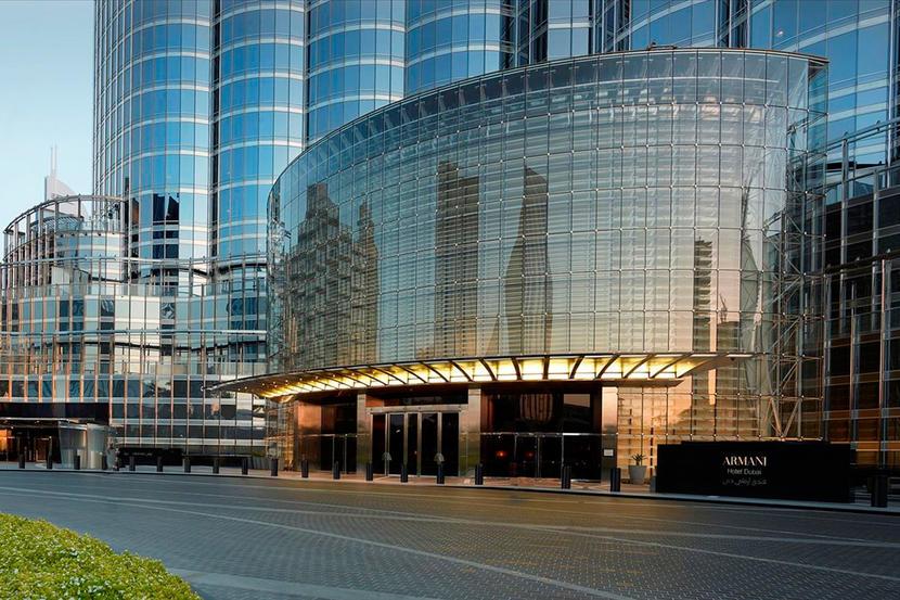 Top hotels in Downtown Dubai, Armani Hotel Dubai