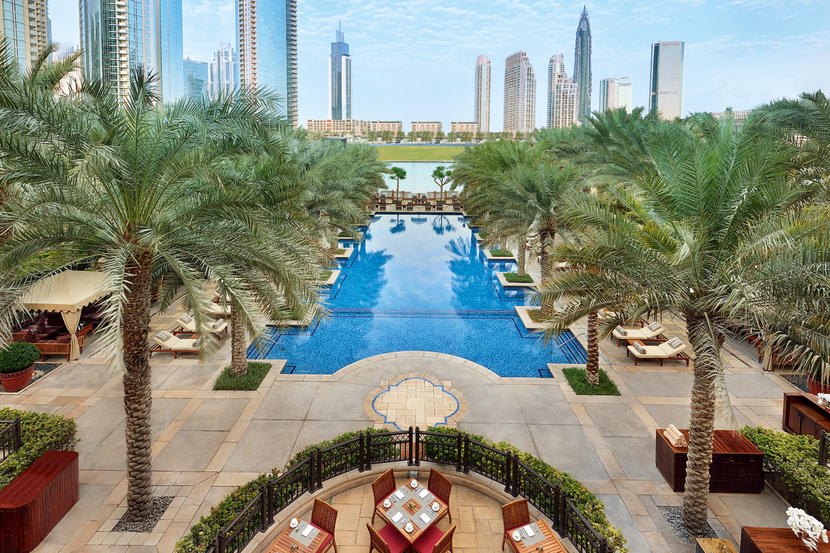 Top hotels in Downtown Dubai, Palace Downtown