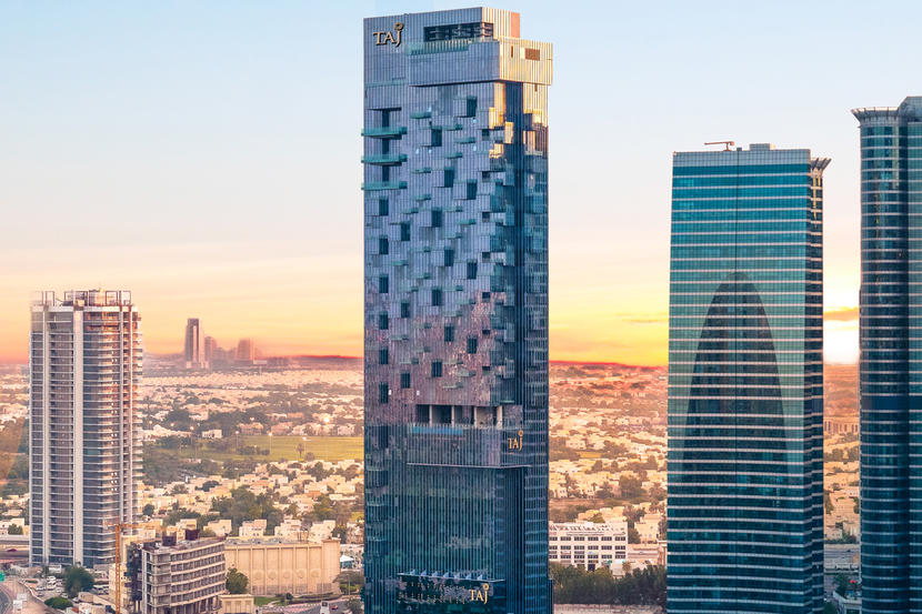 Top hotels in Dubai's Business Bay, Taj Dubai