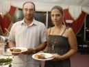 Dimitris Kaimakamis and Mary Karystinou