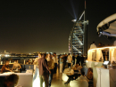 360°: Situated at the end of its own pier and overlooking the  Burj Al Arab , 360° could well have the best location in the city. Head down on Friday or Saturday afternoon and the bar is transformed into a hedonistic electronic playground.   Jumeirah Beach Hotel (04 406 8744). Open Fri-Sat 4pm-2am; Sun-Thu 5pm-2am