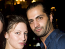 Natalie Como and Hisham Salman