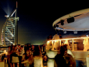 In little more than a decade, Dubai has sprung from the sand in the form of hundreds of startling skyscrapers – it is, quite literally, a city on the up. This means some of its best nightspots sport fantastic vantage points, which is why we thought we'd recommend 10 of the best – or 10 great ways to spend an evening among the stars.360°, Jumeirah Beach Hotel: With the sky as your limitless ceiling, 360° offers a sweeping view of the Arabian Gulf as well as the iconic Burj Al Arab. This pier-based bar is an ideal place for sundowners, especially at weekends when music is hosted by international DJs.Dress code: casual. Open Tue-Thu 6pm-2am; Fri-Sat 4pm-2am. Jumeirah Beach Hotel, www.jumeirah.com (04 406 8744)