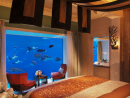 Atlantis Lost Chambers SuiteFeatures: Both bedroom and bath views face directly into the mesmerising underwater world of the Ambassador Lagoon. Stretching over three floors, the Neptune and Poseidon Suites welcome guests with a grand foyer leading down a sweeping staircase into an elegant aquatic-themed dining and living area, with butler's pantry. Then, of course, there are the sumptuous bed and bathrooms with their underwater views. If guests are unable to tear themselves away from watching the 65,000 marine animals, a 24-hour dedicated private butler is available to serve refreshments. Floor-to-ceiling viewing panels into the Ambassador Lagoon from both the bedroom and the bathroom. Price: From Dhs29,500 per night.Atlantis, The Palm, reservations@atlantisthepalm.com  (04 426 0000). Click here to view Hyatt Regency Dubai Royal Suite