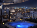 The Address Downtown Dubai Spa SuiteFeatures: With a generously-proportioned private outdoor spa bath, private balcony and spacious terrace complete with sun loungers and views over The Dubai Fountain, a Spa Suite is a haven of relaxation in tourist-frenzied Downtown Dubai. At just over 1,700 sq ft, the whole suite is bigger than an average two-bedroom apartment in the city. Price: From Dhs8,000 per room per night, including breakfast.The Address Downtown Dubai, Emaar Boulevard (04 423 8888). Click here to view Raffles Dubai Middle Eastern Royal Suite