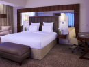 Pullman Mall of the Emirates Executive SuitesFeatures: 33 Executive Suites feature living room, dining area and en-suite 'chill-out' area. Separate powder room, pantry and a walk-in-closet, and even an espresso machine.Price: From Dhs3700 per night.Pullman Mall of the Emirates Dubai, Sheikh Zayed Road, Al Barsha (04 702 8000). Click here to view Rixos The Palm Dubai Grand King suit