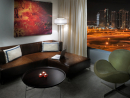 Media One Hotel Chill Out SuiteFeatures:  The clue is in the title: this spacious studio suite targets a slightly different clientele to most suites in Dubai. Each hotel room offers a selection of gadgets, IP phones, digital flat screen TV with satellite channels, IPOD docking station and internet access. Geek chic.Price: From Dhs2,950 Media One Hotel, Dubai Media City (04 427 1000).
