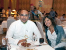 Mohamed Al Jalis and Nadine Dabbous
