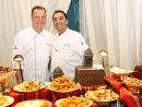 Chefs Frank Noack and Michil Ksiri