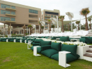 Rixos The Palm DubaiTailored parties offered in the White X venue for up to 1,000 guests, or the Grand King Suite for up to 150 guests. Seven other venues are also available to rent.Venue hire from Dhs4,000; catering from Dhs150 per guest. East Crescent, Palm Jumeirah, www.rixos.com (04 457 5555).