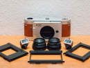 Lomography Belair X 6-12 TrailblazerWhen it comes to taking retro photos, you have a choice: you can take the easy road and choose a filter on Instagram, or you can go vintage and get a Trailblazer, a folding camera that uses real film and lets you take photos in three different print sizes. It comes with two lenses (90mm f/8 and 58mm f/8) and it'll even let you do multiple exposures in one frame.Dhs1,280, www.shop.lomography.com.