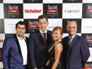 Melia Dubai Team Chef Akshay Nayyar, GM Yannis Homenidis, Marketingg Manager Josie Delfin, DOSM Jagdish Pai