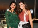 Sarah Khan and Tala Samman