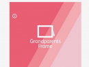 Grandparents Frame App 'This Johnsons Baby app allows any Wi-Fi enabled digital photo frame to receive and display photos sent from Android and iOS devices. The best feature is that you share and grandparents watch; there's no technical aptitude required.'Free, available at itunes.apple.com.