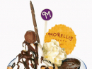 Morelli's bacio at Morelli's GelatoHuge, colourful and served in an elegant glass, the Bacio looks the part. Expect a combination of chocolate, hazelnut and vanilla gelato, a sprinkling of hazelnuts, a dollop of cream and a cup of rich chocolate sauce at its peak. It's decidedly smooth and super-creamy and yes, it's also delicious, but we could only get through about half of it – call for back-up to complete this mission.Treat factor: 4/5Dhs37. Morelli's Gelato, The Dubai Mall, Downtown Dubai (04 339 9905).
