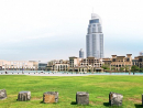 9 Sprawl out in Burj ParkA strip of perfectly manicured grass nestled in a pitch-perfect position overlooking the Burj Khalifa, what you get here is an interrupted, full-on vista of the world's tallest building in all its glory. This expanse of greenery would be perfect for a picnic while gazing up at that view. Or you can opt for a cycle ride as there are bikes for hire by the park entrance. Pets aren't allowed and it's a cool place for bird-watching.Telephone (04 366 1688).