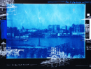 Cyanotype ParisInspired by a photograph on glass from 1878. The series of Paris drawings illustrates and accompanies the memory of this part of the city; it is the scouting in time for an imaginary set.