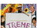 Treme     Set in post-Hurricane Katrina New Orleans, this slow-burning drama was written by David Simon and Eric Overmyer (who you may remember from The Wire). Like the city itself, Treme – pronounced Tre-may – is cool and jazz-like. The story centres on a community struggling to come to terms with the hurricane's devastation and trying to reconnect with its roots. For extra authenticity, lots of the extras are locals and real-life musicians.