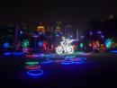 Dubai Garden Glow at Zabeel Park in Dubai