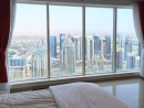 Sleep in the clouds Accommodates two for Dhs367 per nightWhat they say:  Private Room with private bathroom in Dubai Marina. Amazing view. Very large room, like a studio. Private fridge, couch, living area with large flat screen TV. What we say: Vertigo sufferers, look away now. There are probably Dubai properties on Airbnb that are even higher up in the sky than this, but the views from here are simply awesome. This is a great way to put yourself in the shoes of the many Dubaians who have made skyscrapers their homes.  Click here for more on this listing