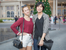 Megi Belvoncikova and Linda Ho